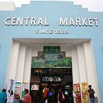 Exterior of Central Market