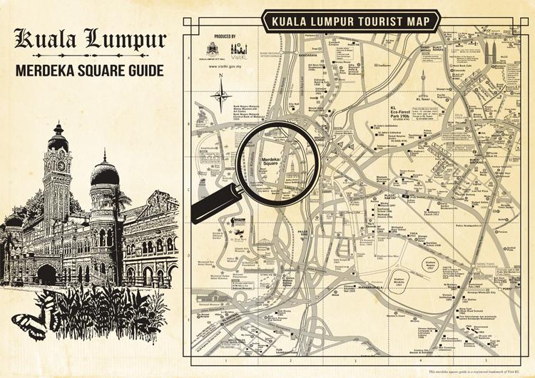 Dataran Merdeka Map