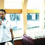 Mr Khairul Faizi Mohd Khorish from Perbadanan Putrajaya welcoming the KCC1M delegates