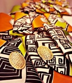 Handicrafts being exhibited