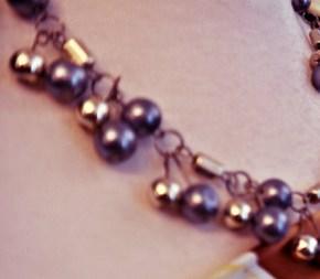 An elegant necklace made by the Selangor Craftsmen