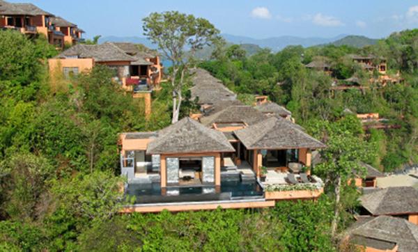 Exterior look of Sri Panwa