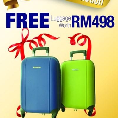 Promotion at Universal Traveller, Gurney Paragon, Penang.