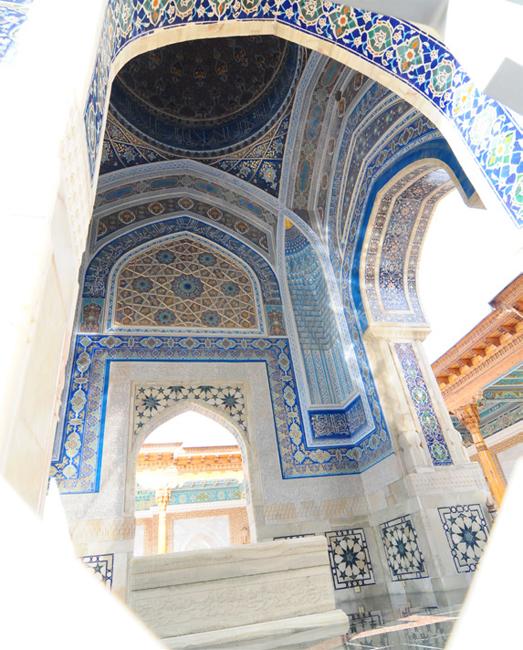 Imam Bukhari's tomb in Samarkand