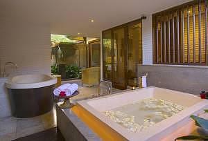 Chedi Ubud Bali Spa Villa Bathroom
