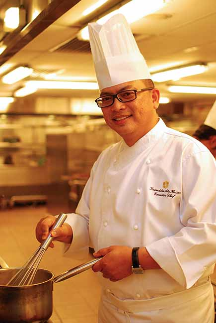 Executive Chef Zainuddin