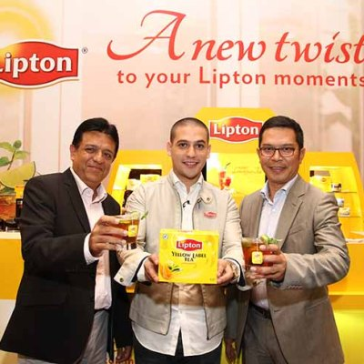Lipton tea twist