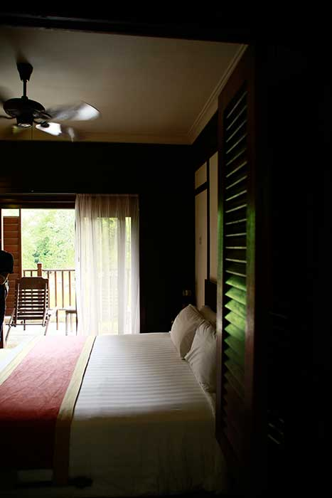 Some of the rooms at Bukit Merah Laketown Resort