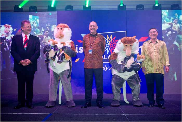 Visit Malaysia Year 2014 Mascot: The Proboscis Monkey