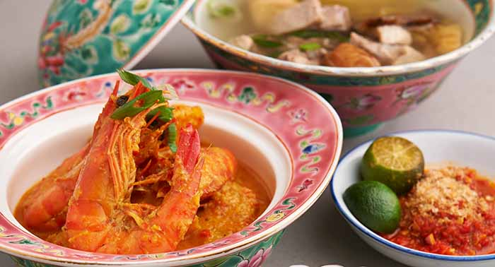 A Touch of Peranakan, A New Lunch Feature