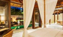A Bedroom at The Chedi Club Jimbaran
