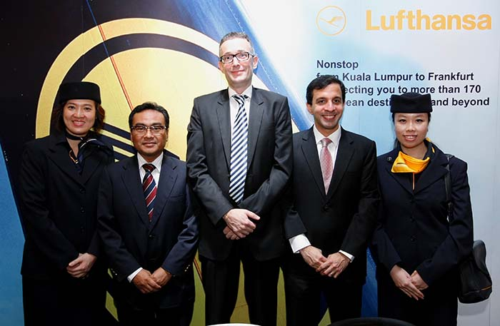 Lufthansa Airlines Flies Direct to Frankfurt from KL Beginning 30 March 2014