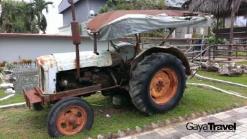 Old tractor at Kinta Tin Mining Museum
