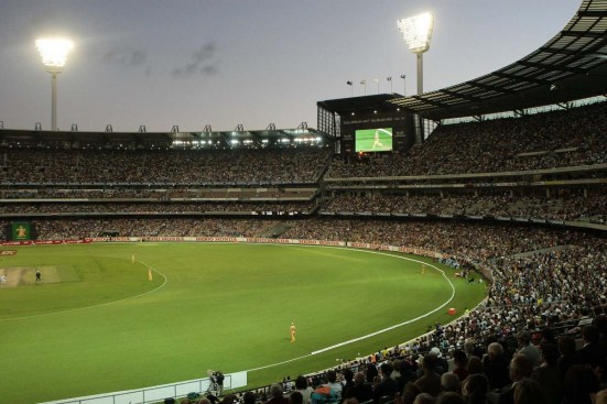 Cricket at the MCG on Boxing Day