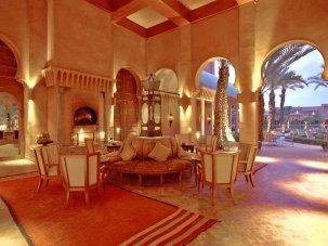 Amanjena - Marrakech, Morocco - The Entrance Colonnade