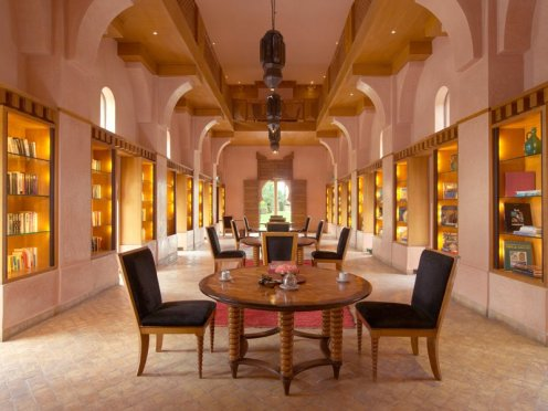 Amanjena - Marrakech, Morocco - The Library