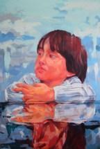 Irfan 138x92cm Oil on Canvas 2014 Sudin Lappo