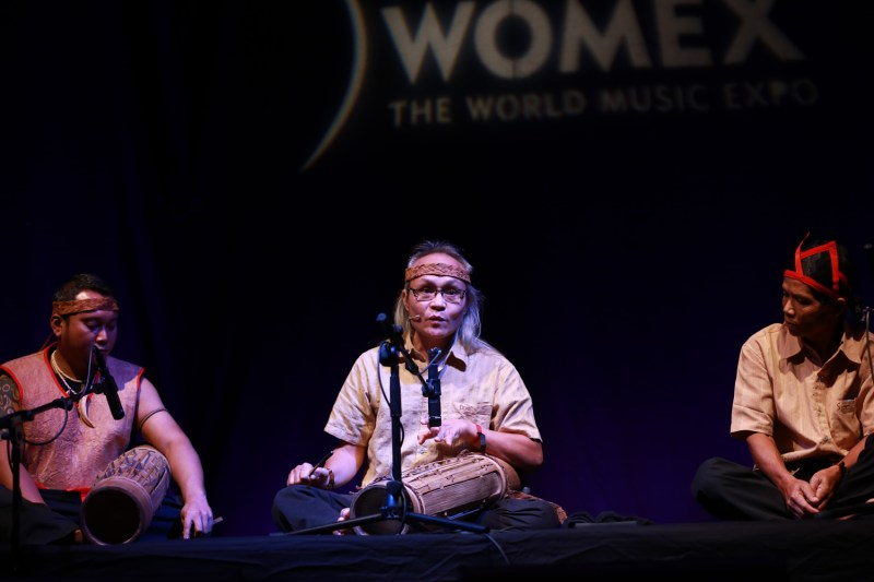 Madeeh from Sarawak Leading Music Showcase Womex in Spain