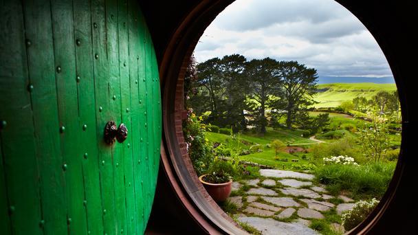 Matamata, the site of Hobbiton in The Hobbit movie