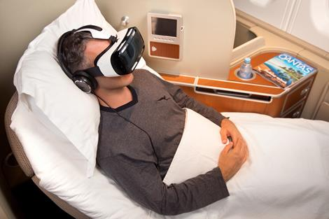 Qantas & Samsung Unveil Industry-First Virtual Reality Experience for Travellers