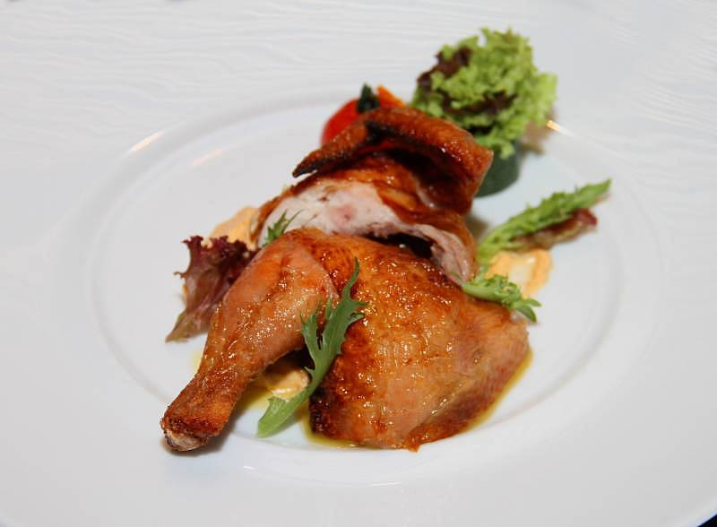 Fortune Golden Crispy Spring Chicken at Still Waters, Hotel Maya