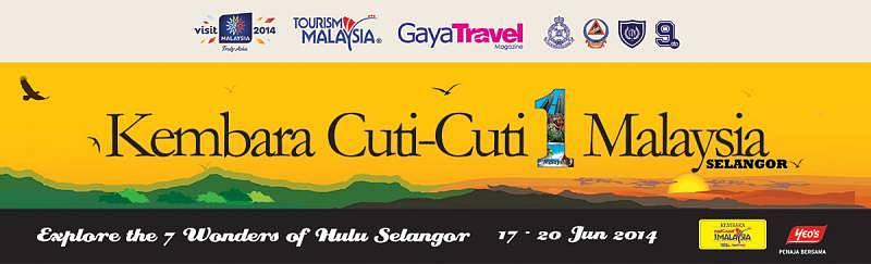 Kembara Cuti Cuti 1Malaysia - Selangor 2014