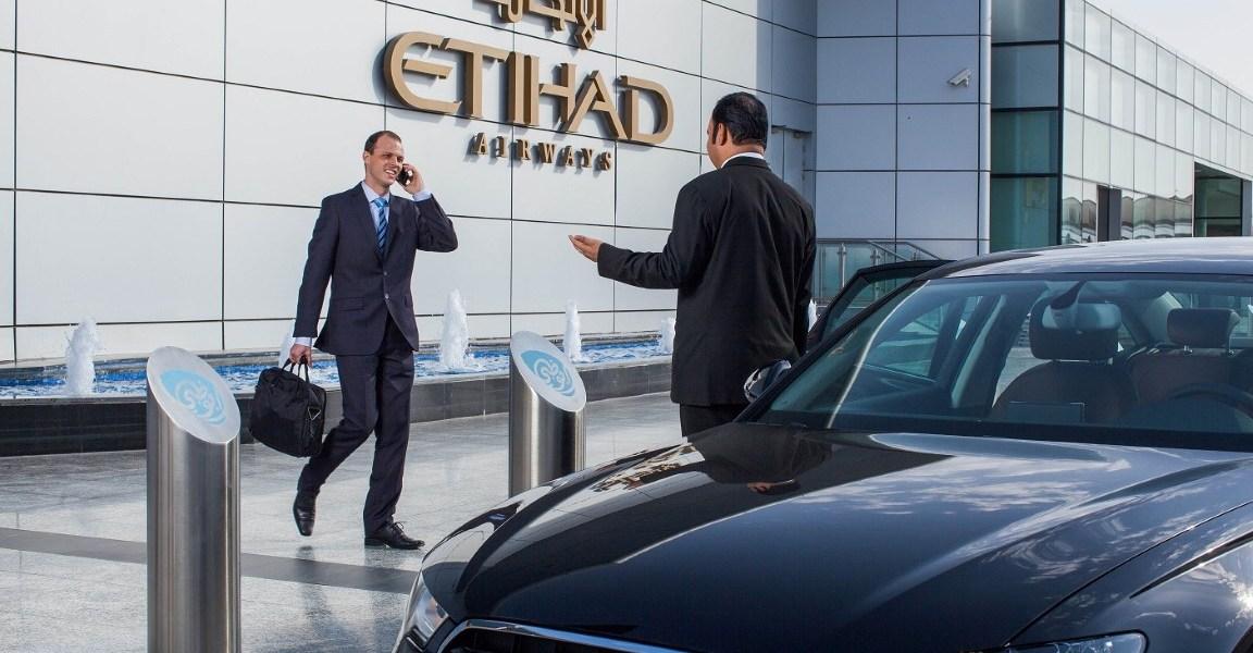 Etihad Airways' Complimentary Chauffeur Service Enhances Premium Travel Experience