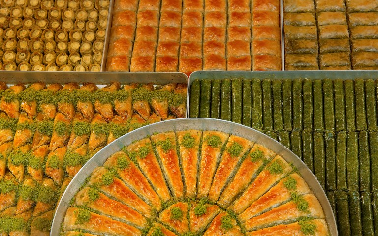 Sweet treats during Seker Bayram, also known as Sugar Feast