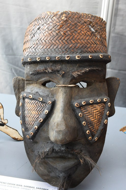 Some of the masks showcased during MIMAF 2015.
