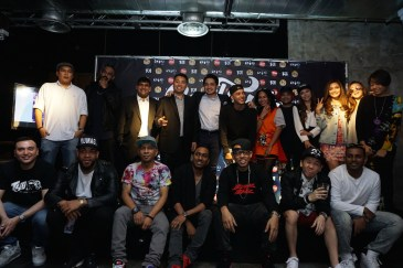 Soulfest Asia 2015 artists and sponsors during the press conference.