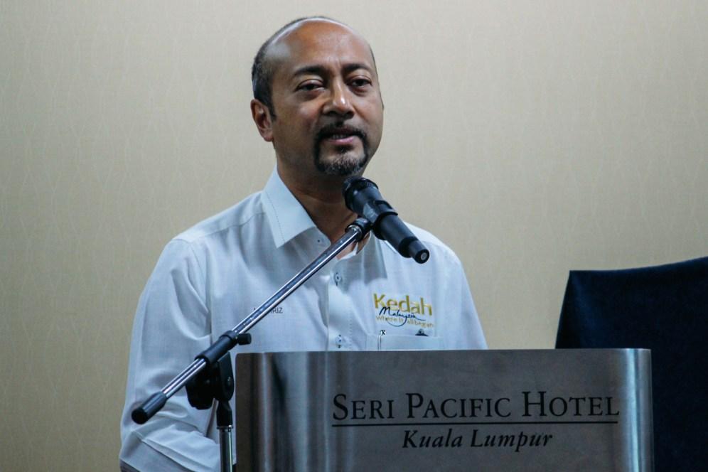 Kedah Chief Minister YAB Dato' Seri Hj. Mukhriz Tun Mahathir.