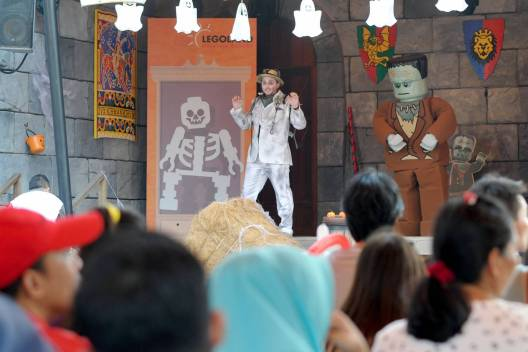 The brand new and special Halloween Show at Castle Stage