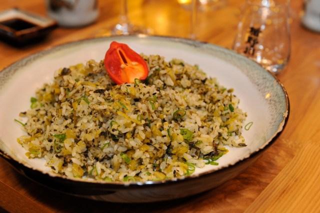 Chili Padi Takana Fried Rice