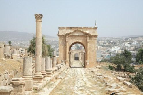 Archway in Jerash