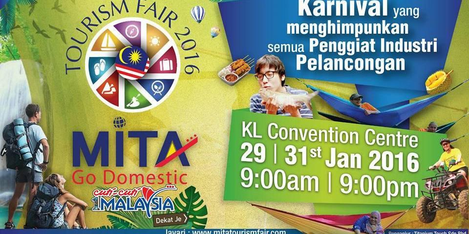 Gaya Travel Magazine Joins the Inaugural MITA Tourism Fair at KL Convention Centre