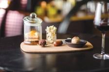 Dessert offering at Adelphi Hotel
