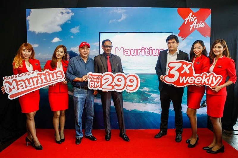 Mauritius Now Part of AirAsia X's Growing Route Network
