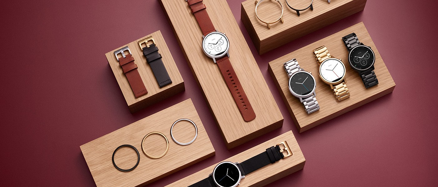 Stay minimalist yet up-to-date with the new Moto 360 by Motorola