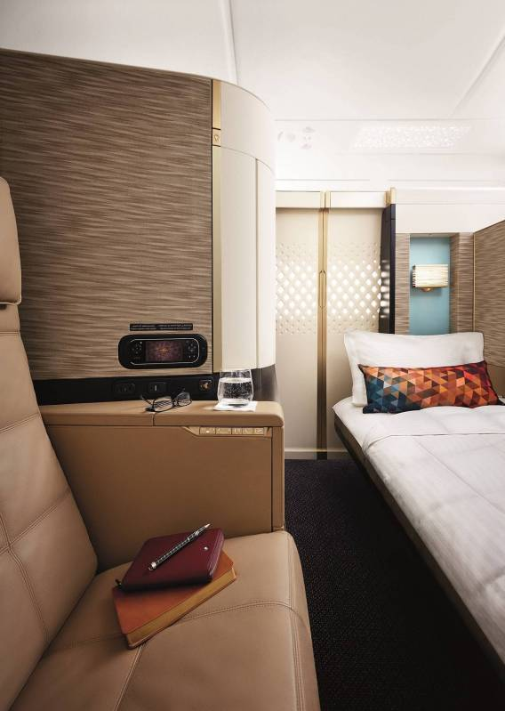 Triple Honours for Etihad Airways' First Class at Skytrax World Airline Awards