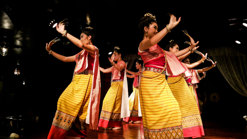 'Khantoke dinner' combines visual treat of the Thai hill tribe dances with an assortment of local culinary fare