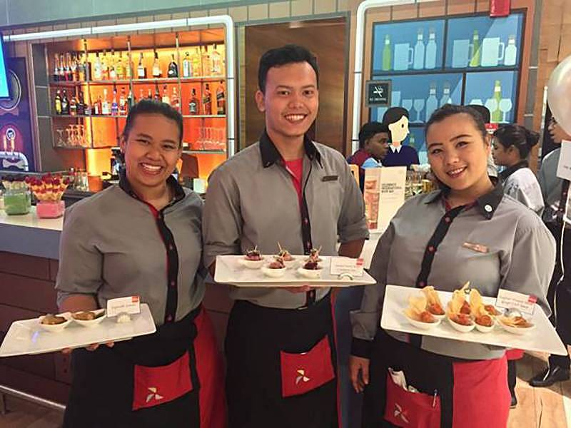 Four Points by Sheraton Puchong, greeted customers and guests at a cocktail reception to celebrate Marriott International's successful completion of the acquisition of Starwood Hotels & Resorts Worldwide Inc., bringing together 30 leading brands to ensure Marriott will have the right brand in the right place to serve guests wherever they travel.
