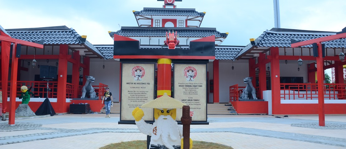 The First Lego® Ninjago The Ride in Asia Comes To Malaysian Shores
