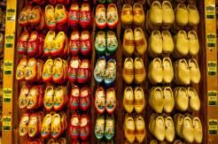 Clogs, the iconic symbol of Zaanse Schans