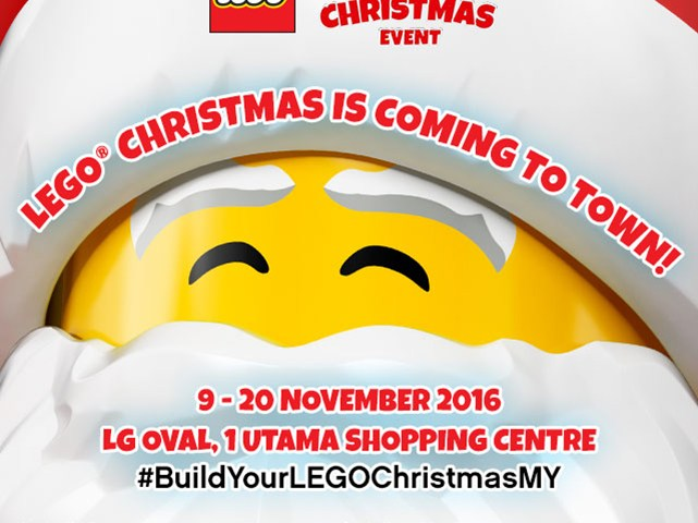 Celebrate Christmas with LEGO® Malaysia at the Build Your LEGO® Christmas event