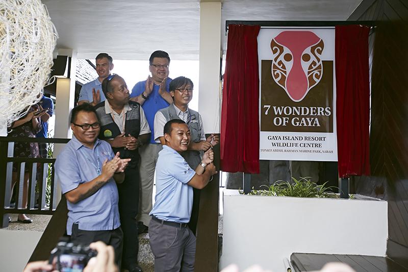 Gaya Island Resort Wildlife Centre Launch