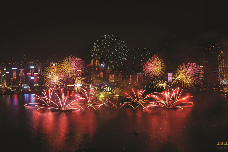 Celebrate the Year-end with a Bang in Hong Kong!