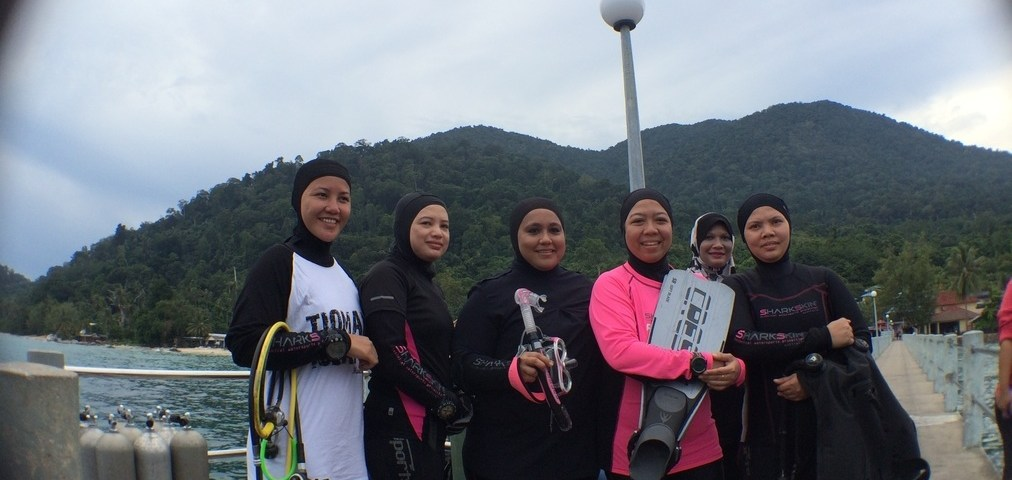 Start-in-Tioman 2016: It is Muslimah Divers' Turn!
