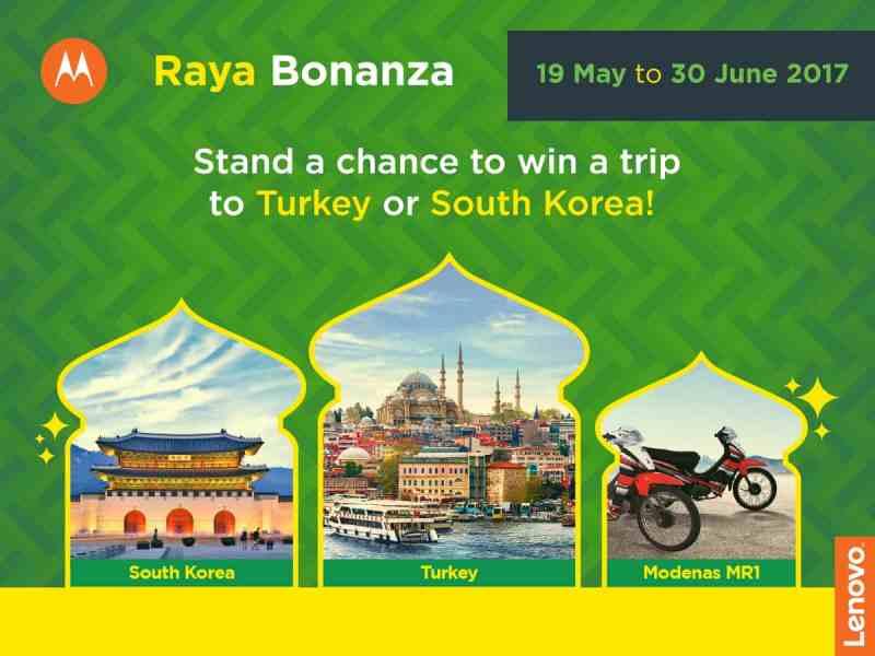 (Lenovo Moto Raya Bonanza Campaign Embrace the Festivities this Season)