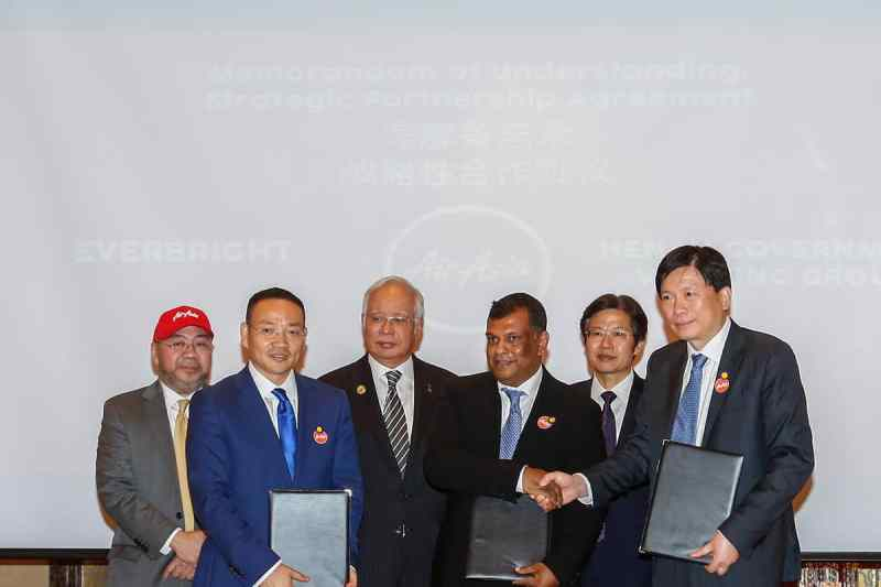 AirAsia and Everbright Sign China Joint Venture MOU