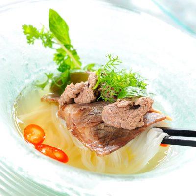 Vietnamese beef noodles soup (pho) at Latest Recipe, Le Meridien KL